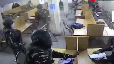 حمله پلیس هند به دانشجویان مسلمان